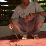 Linus with Mangrove Pit Viper - Thailand