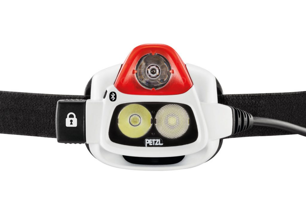 Top rated Petzl Nao Plus 750 lumens headlamp for snake hunting (herping).