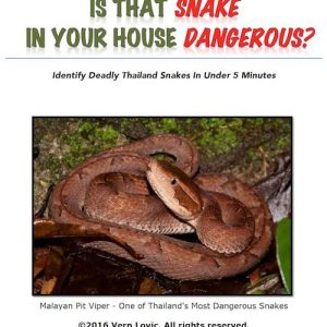 Book - Is that snake in your house dangerous by Vern Lovic