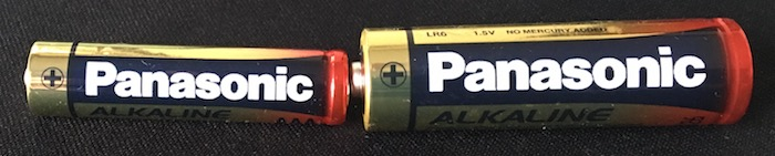 Flashlight batteries for Herping Tours in Thailand