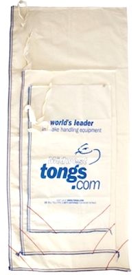 Tongs.com Snake bags tie and have safe corners for extra security.