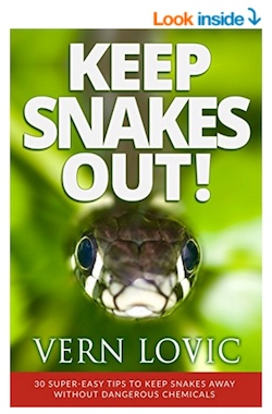 Keep Snakes Out cover for ordering this book at Amazon here.